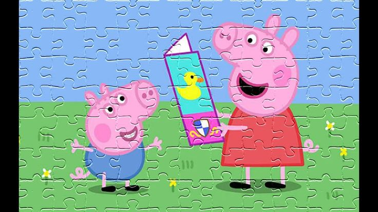 Peppa Pig Fun Puzzle Games for Children