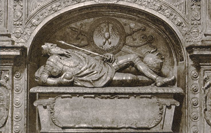 Santi Gucci - Nagrobek Zygmunta Augusta lata 70 XVI w.