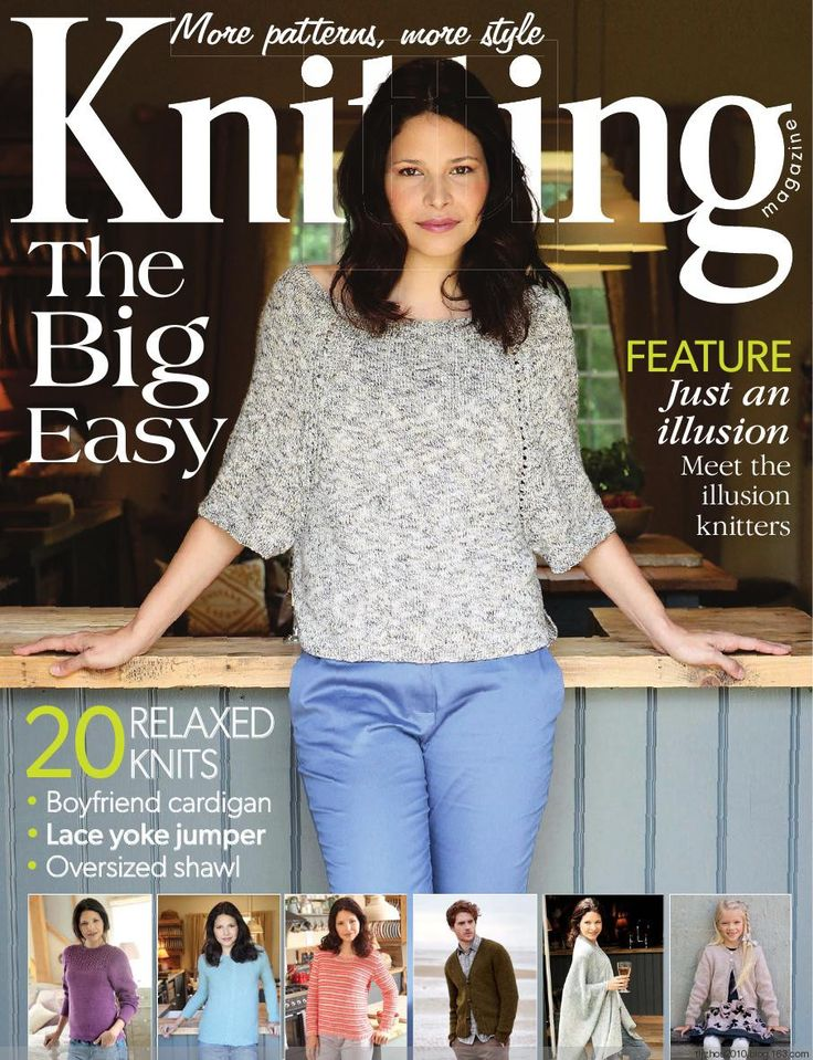 Knitting Magazine No9 2014 - 紫苏 - 紫苏的博客