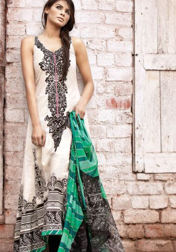 Color Combination is great - #salwaar kameez #chudidar #chudidar kameez #anarkali #anarkali suits #dress #indian #outfit  #shaadi #bridal #fashion #style #desi #designer #wedding #gorgeous #beautiful
