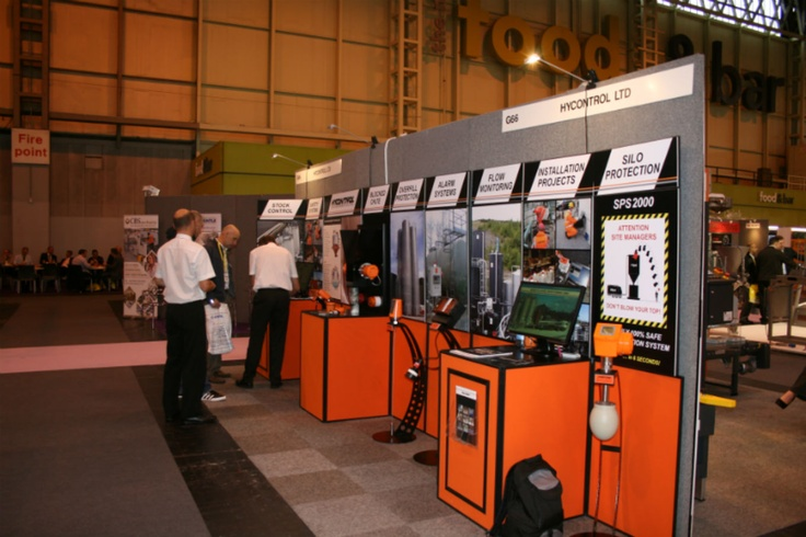 Hycontrol Ltd stand at PPMA 2012