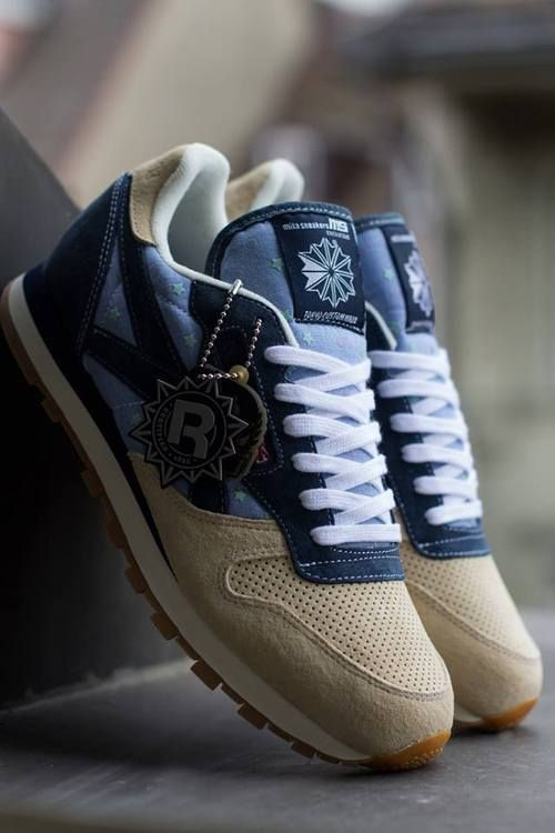 MITA sneakers x Reebok Classic | I'm generally anti-Reebok but these shoes are pretty awesome.