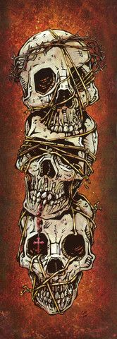 Day of the Dead Artist David Lozeau, The Ties That Bind, David Lozeau Dia de los Muertos Art - 1