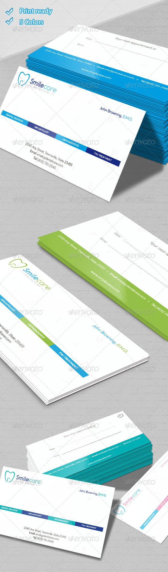 Dental Business Cards - Industry Specific Business Cards