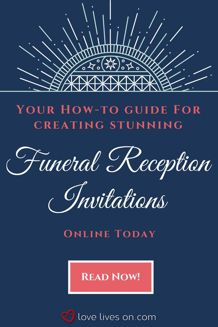 Click to find everything you need to know in order to create & order gorgeous funeral reception invitations online today. Learn what information you need to include in your funeral reception invitation & view 39 of our favorite online invitation templates that you can use, including pricing & shipping details. Funeral Reception Invitations | Funeral Reception | Funeral Invitation Wording | Funeral Invitation Memorial Service | Funeral Invitation Templates | After Funeral Reception