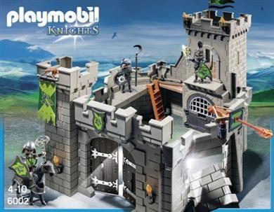 Playmobil Κάστρο Των Ιπποτών Του Λύκου (6002) 59,99