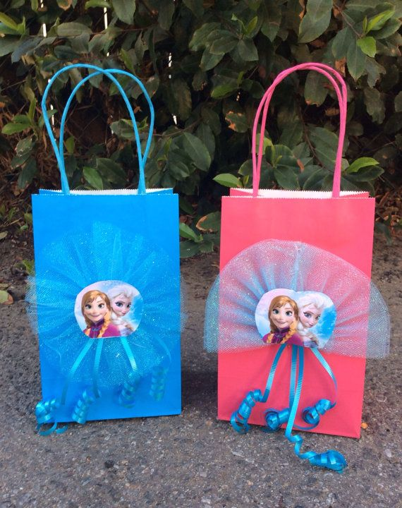 Frozen Disney Birthday Party Favor