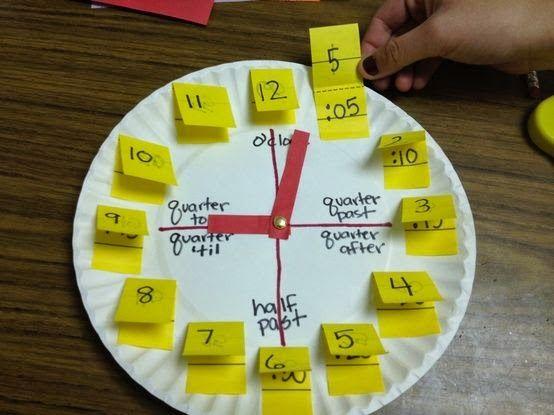 La Eduteca: CLUB DE IDEAS | 5 ideas para trabajar el tiempo y el reloj en clase