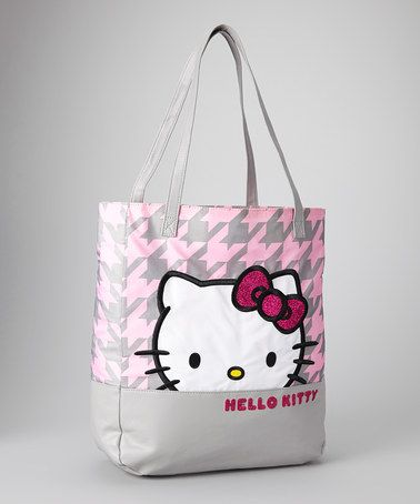Take a look at this Kittystooth Hello Kitty Tote by Hello Kitty on #zulily today!