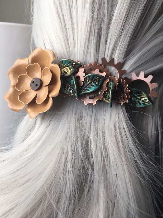 Flower Hair Accessories For Women  Hair Clip by ArcanumByAerrowae