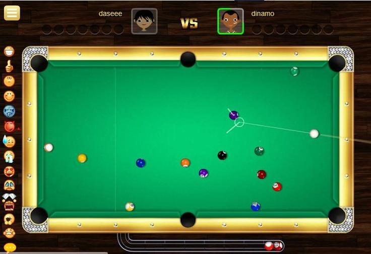 Gran juego multijugador de billar, donde competiras con mismo usuarios Online, trata de ganar cada juego, primero tendrás que meter una bola ya sea ralladas o lisas y luego seguir con el que corresponde. http://www.ispajuegos.com/jugar7380-Hot-8-Ball-Billiards-PVP.html