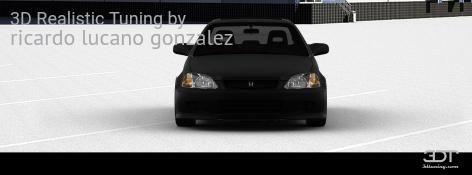 Checkout my tuning #Honda #CivicSi 1999 at 3DTuning #3dtuning #tuning