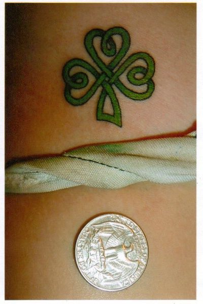 shamrock tattoos for women | Recent Photos The Commons Getty Collection Galleries World Map App ...