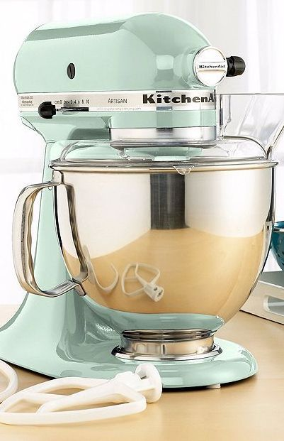 KitchenAid KSM150PS Stand Mixer, 5 Qt. Artisan in Mint http://rstyle.me/~1cB6n