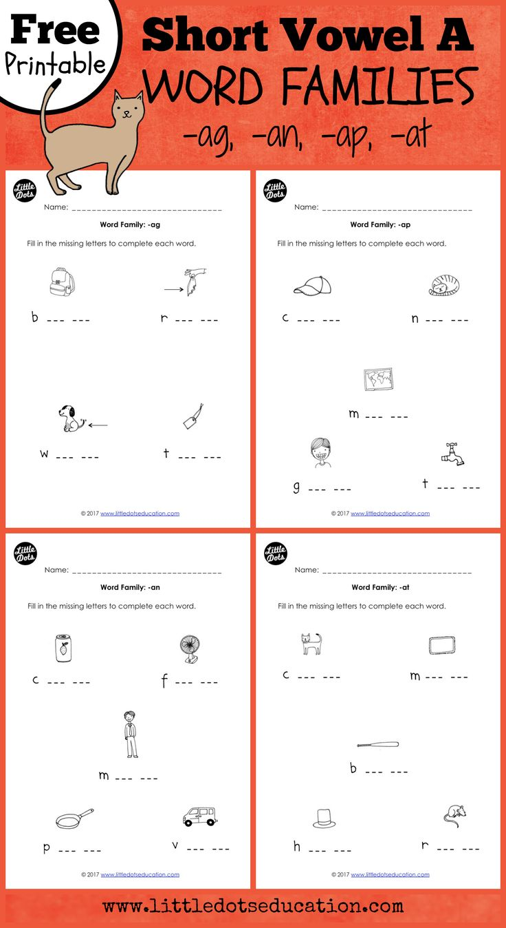Skillswise English Worksheets Excel  Best Phonics Images On Pinterest  Kindergarten Class Phonics  Romeo And Juliet Prologue Worksheet Excel with Grade 8 English Grammar Worksheets Free High Quality Short Vowel A Word Families Worksheets For Kindergarten  Phonics Activity Visit Www Skip Counting Worksheet