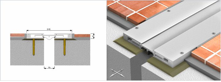Expansion joint - http://www.hidroplasto.ro/expansion-joint.html