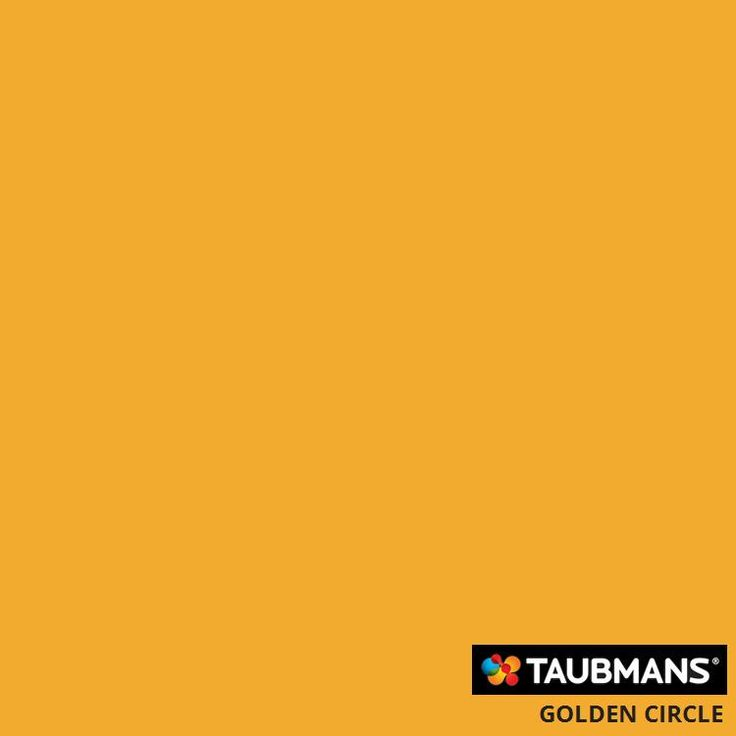 Taubmans colour: golden circle #Taubmanscolour #goldencircle