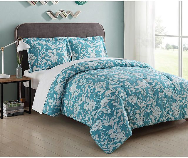 Essential Home Microfiber Comforter Set (Twin Queen) $9.99 (kmart.com)