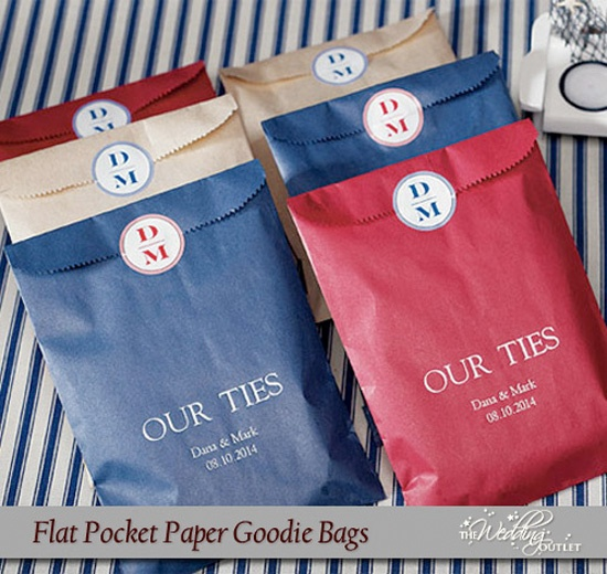 Pocket Style Favor Bags