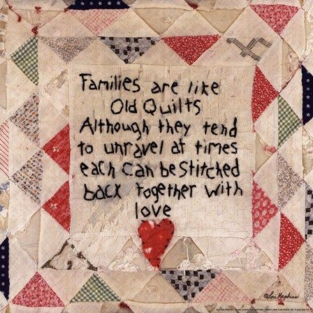 Families are Like Quilts Fine-Art Print by Lori Maphies at FulcrumGallery.com