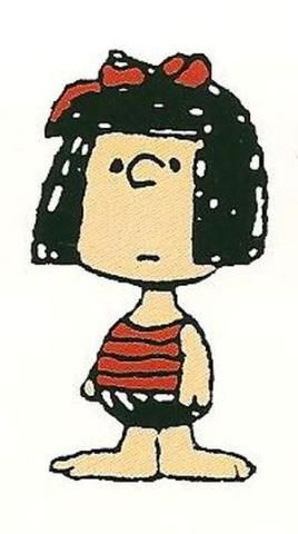 Clara - Peanuts minor character : first appeared in June 18, 1968. The first Clara was one of the three little girls who were under the tutelage of Peppermint Patty during one of her Summer Camp adventures.