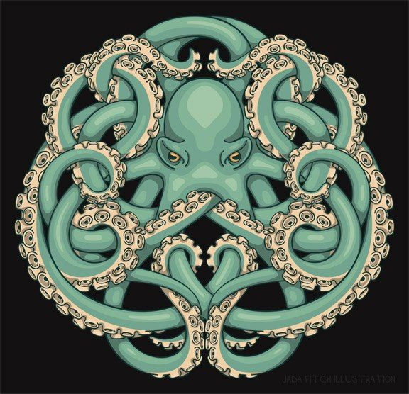 Octopus Celtic knot found by my pinning friend, Lindsay.