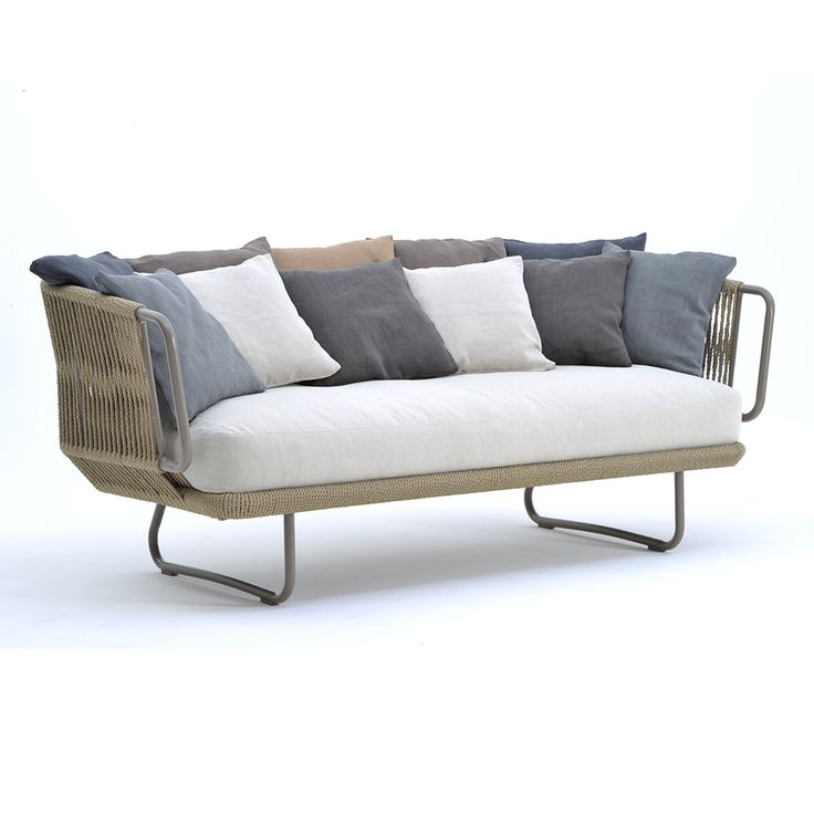 An Outdoor Collection Made With Aluminum Frame And Hand Woven Fiber.