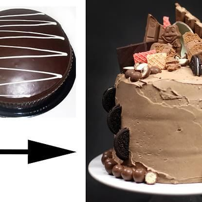 Cake Decoration At Coles : 70 best images about cakes on Pinterest Chocolate cakes ...