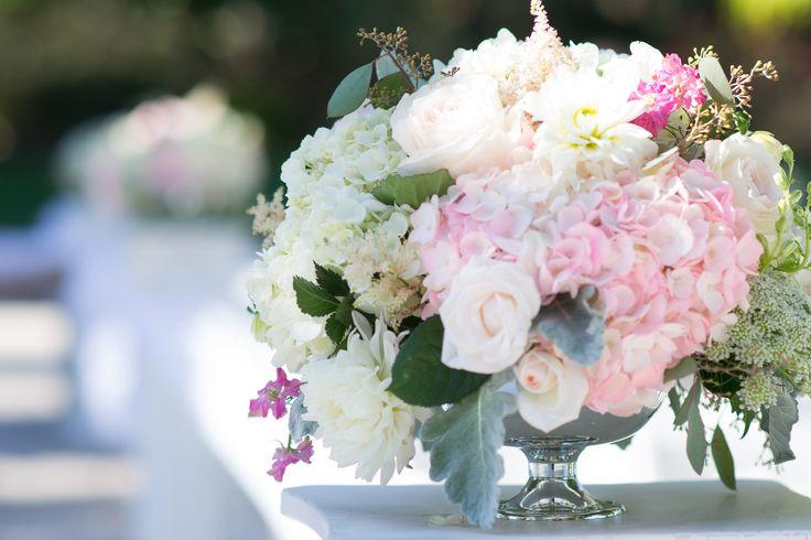 Real Wedding: Coyote Hills Golf Course, Fullerton Florist: The Purple Iris Events, Fullerton wedding flowers, outdoor wedding, ceremony flowers, bridesmaids bouquets, summer wedding, pastel wedding, blush, mint