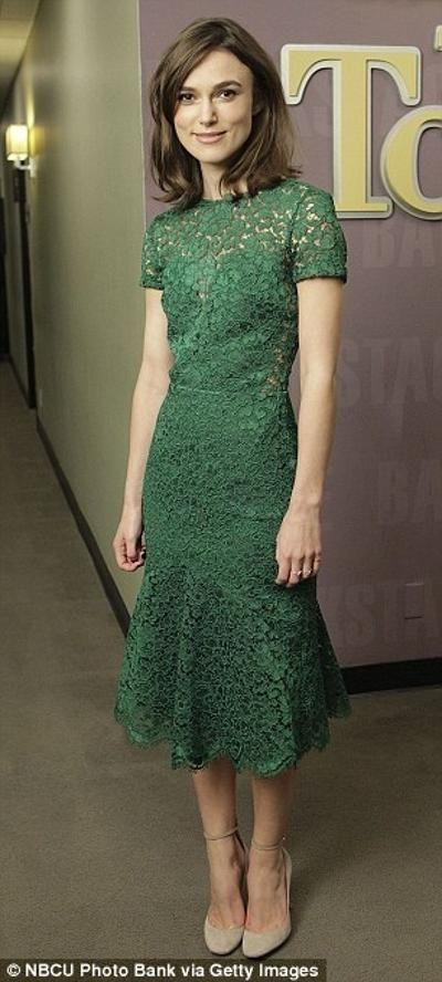 Keira Knightley in Burberrys Prorsum