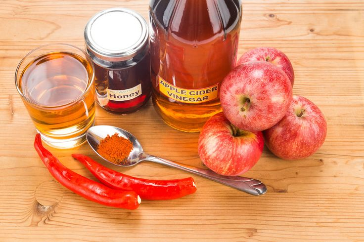 apple cider vinegar syrup as cough relief