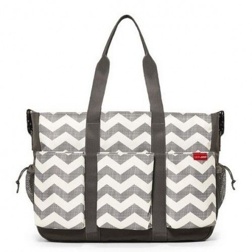 BOLSA MATERNIDADE (DIAPER BAG) DUO DOUBLE - CHEVRON - SKIP HOP
