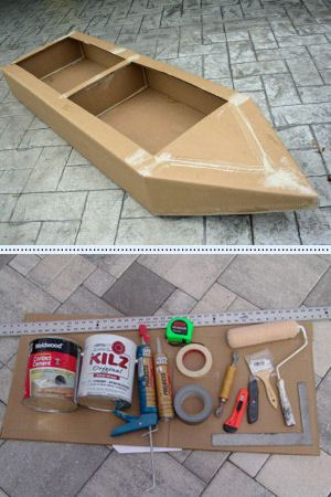 Boat Building :: Cape Coral Cardboard Boat ....... OKAY. OUR BOAT IS GOING TO BE AMAZING THIS YEAR WHETHER WE LIKE IT OR NOT. We hsould actually start planning it :)