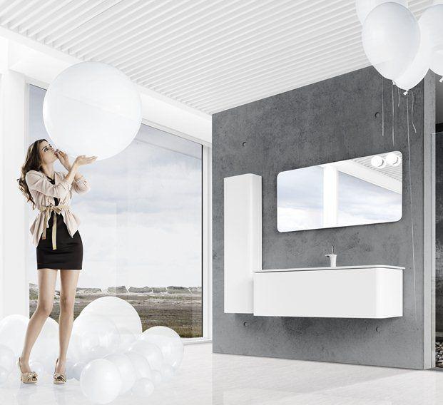 Dansani badkamer:   Met Dansani Curvo kunt u de badkamer met discrete elegantie en eenvoudige schoonheid inrichten, zodat u volop van de tijd in de badkamer kunt genieten.