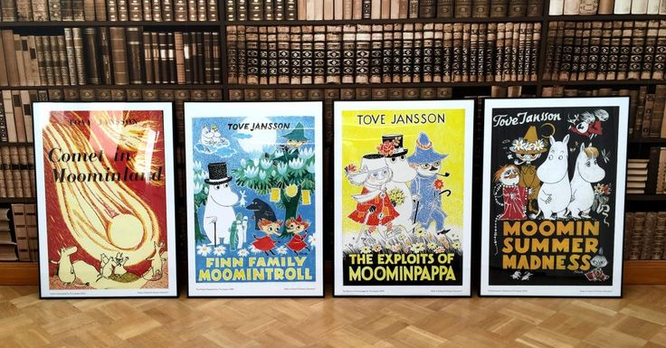 Moomin Vintage Posters Exclusively from moomin.com http://shop.moomin.com/search?type=product&q=Vintage+poster