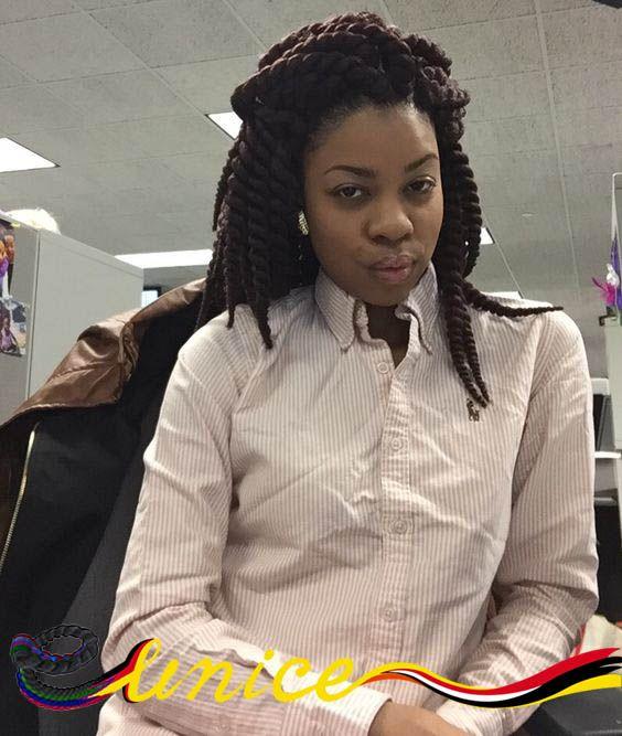 Африканские Косы Стили Легко Волос Косы 16 дюймов Гавана Мамбо Твист Синтетических Крючком Косы Волос Фальшивые Волосы