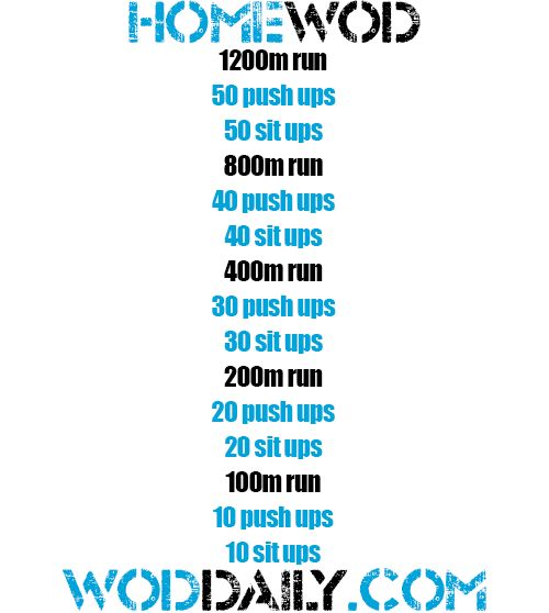Tuesday 130917 - Home WOD by woddaily.com