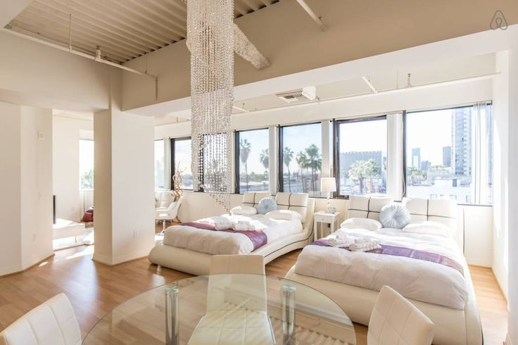 Check out this awesome listing on Airbnb: ENTIRE HOLLYWOOD LOFT -2 QUEEN BEDS - Apartments for Rent in Los Angeles