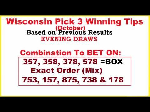 Wisconsin Pick 3 Lottery Winning Tips for October 2017 - (More info on: https://1-W-W.COM/lottery/wisconsin-pick-3-lottery-winning-tips-for-october-2017/)