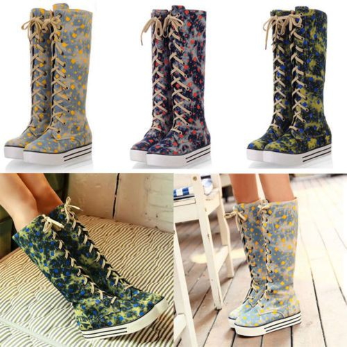 High Top Boot Shoes