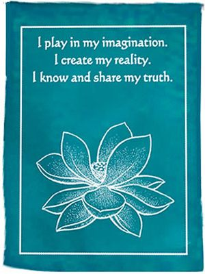 : Mindbodysoul Inspiration, Prayer Flags, Chakra Affirmations, 5Th Chakra, Healing Chakra, Healing My Chakra, Mind Body Spirit, Throat Chakra, Reality Quotes