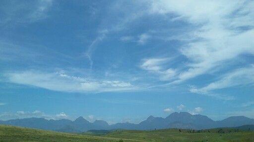 #montanhas #nuvens BR 101 Campos dos Goytacazes - RJ - Brasil