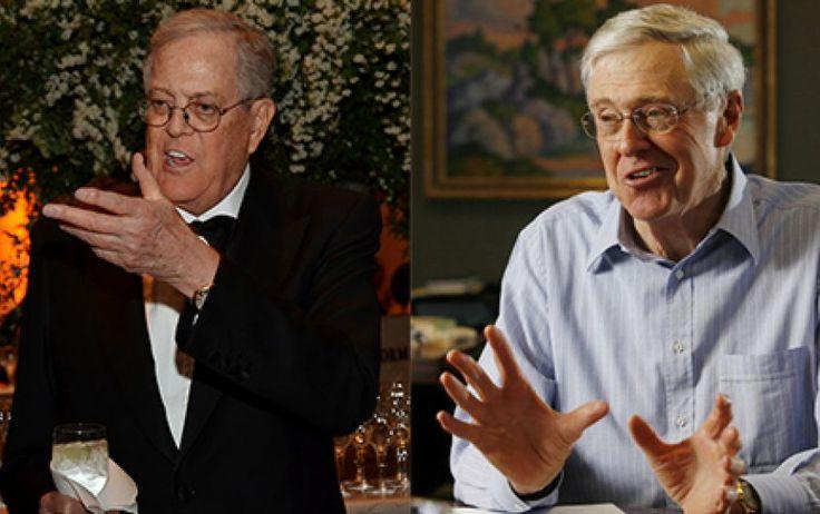 """Миллиардеры Чарльз и Дэвид Кох - владельцы """"Koch Industries"""" — крупнейшей частной компании в мире"""