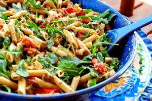 six ingredient chicken pesto pasta 1_small