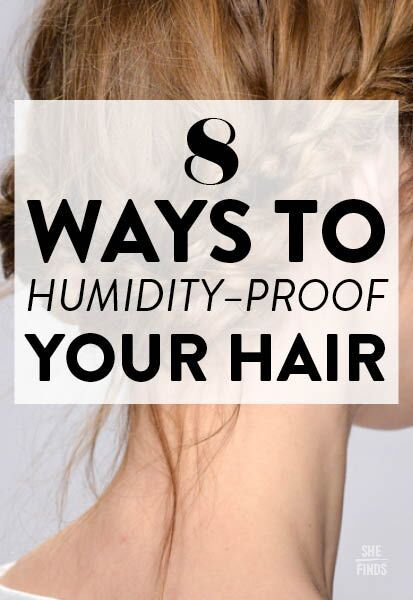 8 Ways To Humidity-Proof Your Hair