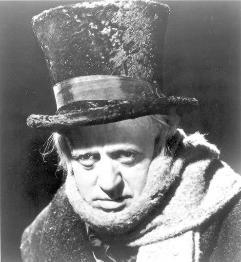scrooge black and white movie | definitive Dickens adaptation, this atmospheric black-and-white film ...