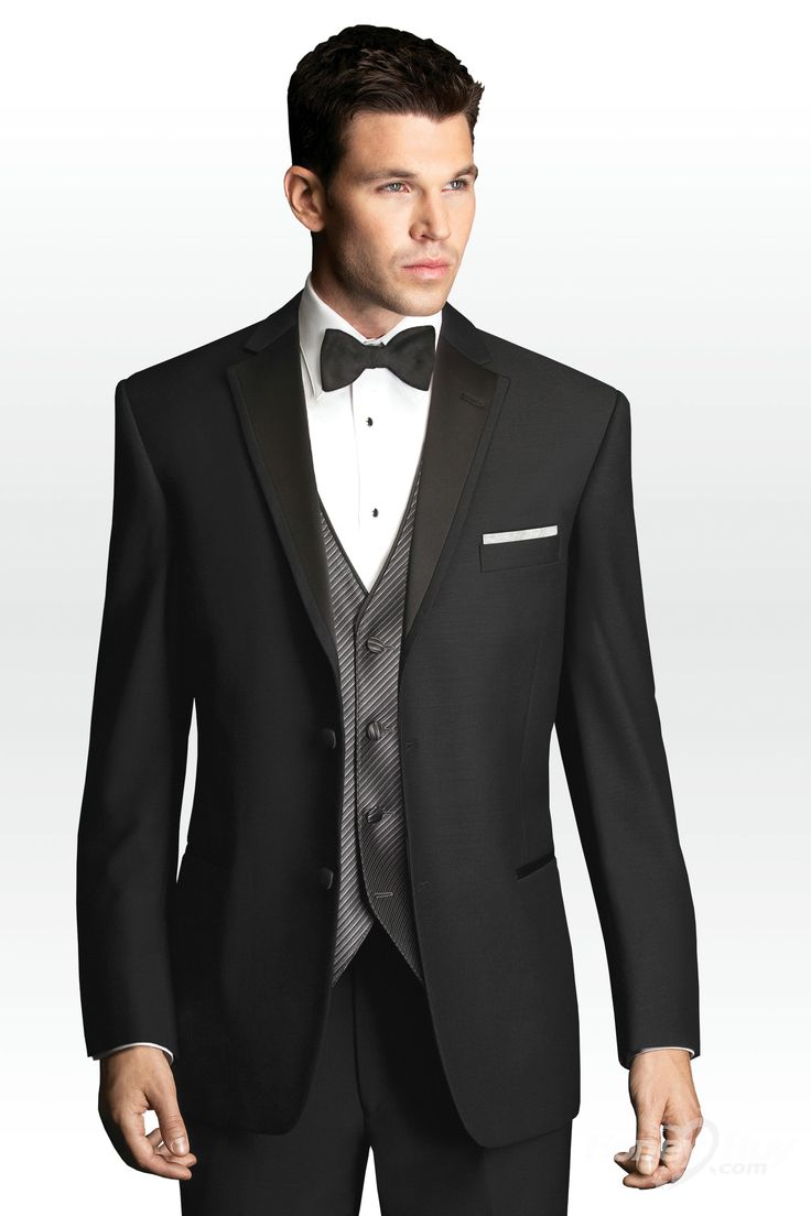 Black Men Designer Clothes | ... Single Breasted Front Black Designer Formal Suits For Men New Styles