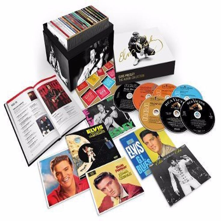 ELVIS PRESLEY  The RCA Albums Collection  60 CD Deluxe Box Set  NEW SEALED