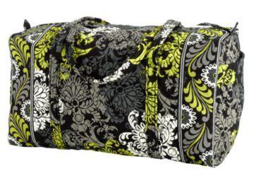 Large Vera Bradley Duffle - Baroque pattern
