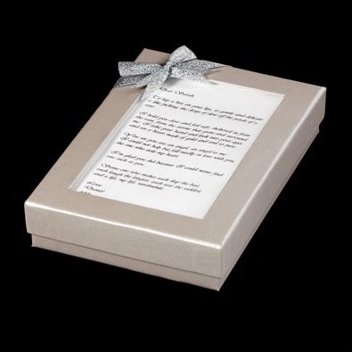 Message on  a Necklace  - Personalised Gift Sets